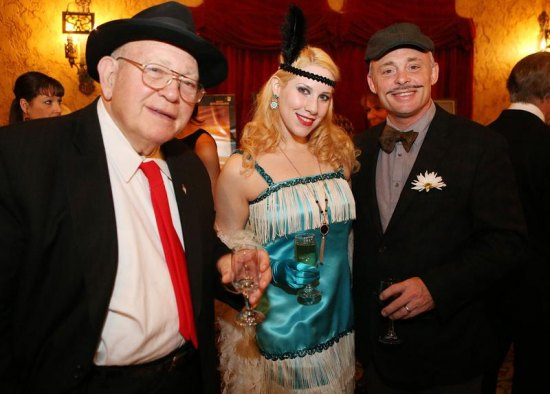 Jim St. Clair ; flapper Lauren; Sam St. Clair