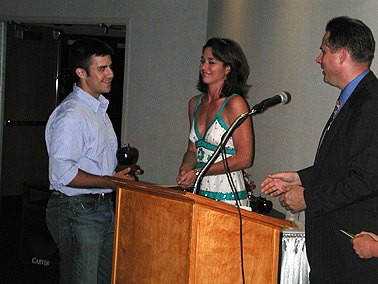 Then WOWK anchor, Brooke Baldwin, MC'ed the Appalachian Film Festival. She's now a CNN anchor