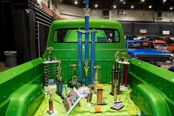 Robbie Watson has already won several awards in the past, with his 1953 Ford F-350 pickup truck.