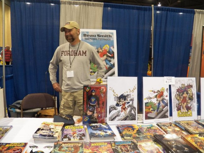 MU graduate, Beau Smith, started his career with Eclipse Comics