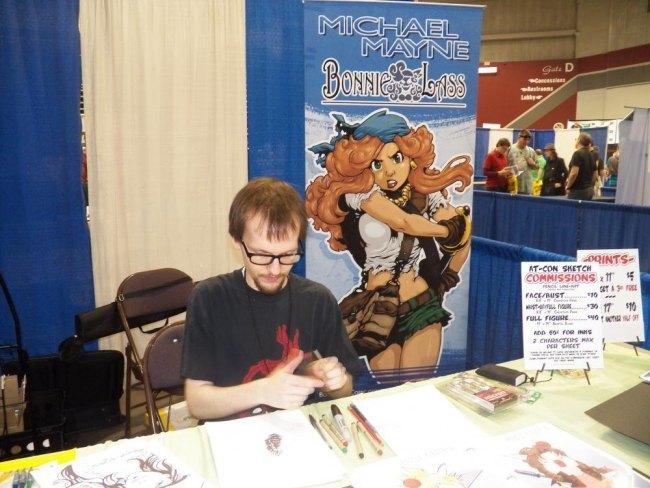 Michael Mayne writer/artist for Red 5 comics