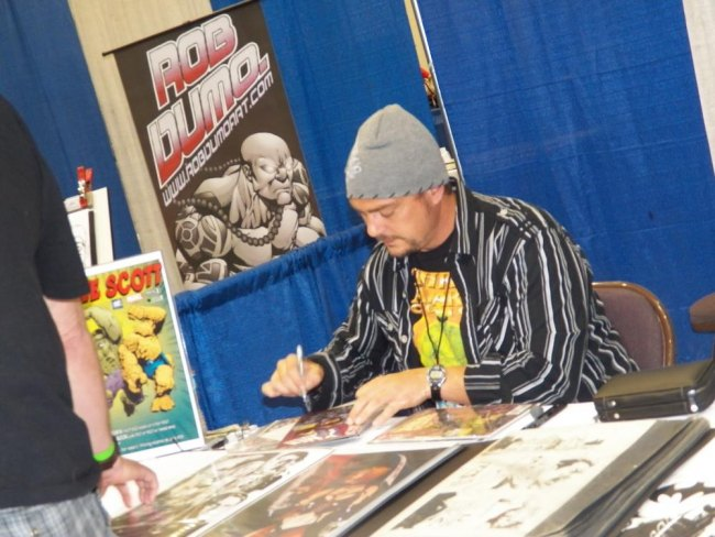 Steve Scott, an artist for Marvel Comics and formerly D.C. At one time, he drew Batman.