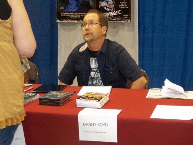 Danny Boyd comic artist/creator of chiller comics