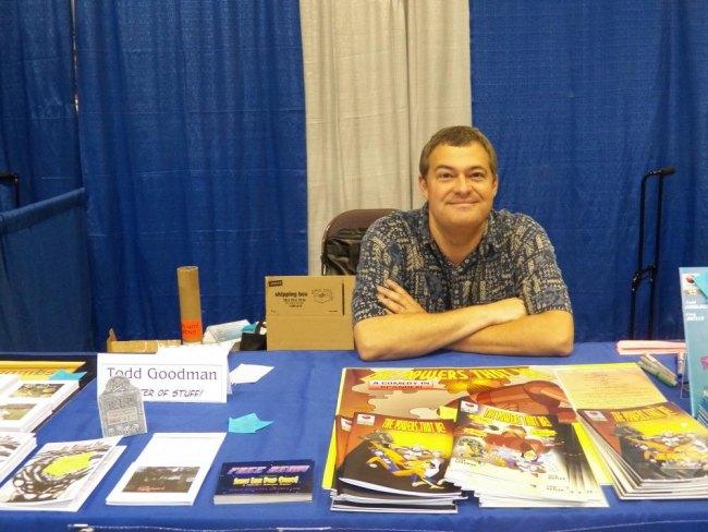 Todd Goodman eye of the probe comic creator
