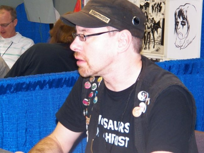 Max Ink creator of Blink comics