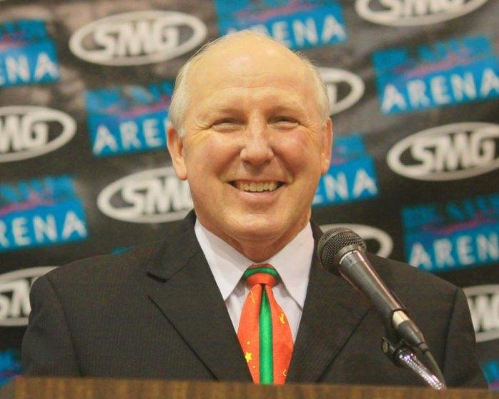 Mayor Kim Wolfe Smiling