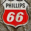 "This ""Phillips 66"" sign has seen better days."