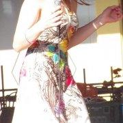 Singer of Jabberwocky dancing