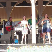 Jabberwocky performing for the crowd at Heritage Station