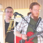 One of the Guitar players for the band.