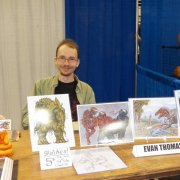 Evan Thoman free lance illustrator as well as G2 comic artist/creator