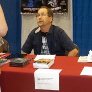 Danny Boyd comic artist/creator of chiller comics