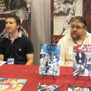 Todd Beistel and Doug Hufford artists/ creators of Yuri comics