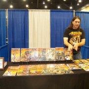 No gods comic creator Dustin Carson