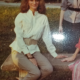 Mia's mom Mimi over 20 years ago on MU campus