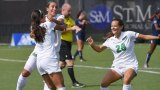 M. Abu-Tayeh's Two Goals Sparks Women's Soccer Double Overtime Victory