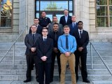 Huntington Hires Eight Police Officers