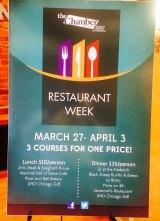 Restaurant Week Coincides with International Film Festival