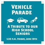 Huntington Seniors  Graduation Parade Friday