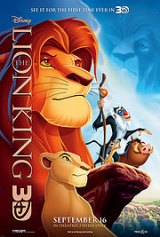 Lion King 3D roared to #1