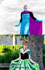 Elsa & Anna Join Ashland Superhero Block Party for Frozen Meet & Greet