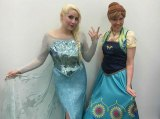 Elsa & Anna Visited Old Central City Saturday