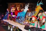 Barboursville Holds Christmas Parade; Santa, Elsa, Marching Bands  IMAGES