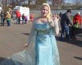 "Chills, Spills and Ice Grace, as ""Frozen"" Queen Visits Barboursville's Ice Rink"