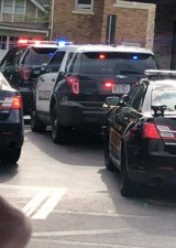 BREAKING ... Possible Drug Incident  Near Huntington  Restaurant Across from Hospital