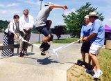Go Skate Sunday IMAGES from Harris Riverfront Skatepark