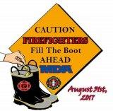 Fire Department Boot Drive Thursday