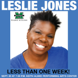 Leslie Jones Makes 'em Laugh at Keith Wednesday