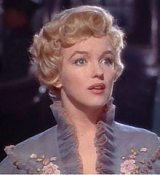 "Monroe in Scene from ""Princess and Showgirl"" about Which ""My Life with Marilyn"" centers"
