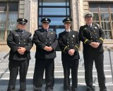 Huntington Promotes Five Firefighters