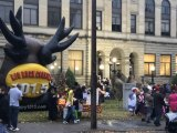 IMAGES: Dawg Safe Halloween, City Hall Celebration