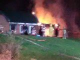 Fire Severely Damages house on Ohio River Road