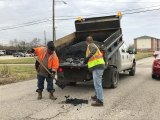 Huntington Pot Hole Patching Requests