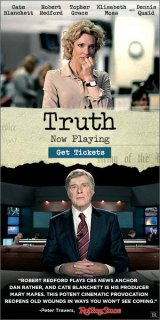 """UPDATED HURRY ENDS THURSDAY REVIEW: """"Truth"""" Scrutinizes How Agendas Brought Down Respected Journalists"""