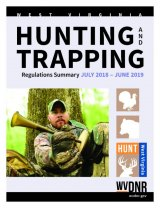Hunting season changes explained in 2018-2019 West Virginia hunting and trapping regulations summary brochure
