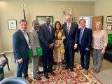 Zambia, Huntington Share Mutual Grace