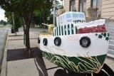 Towboat Art Display Debuts Downtown