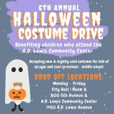 Mayor's Halloween Costume Drive