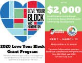 Applications Available for Love Your Block West
