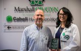Melissa A. Rowe, M.D., recognized as October Resident of the Month