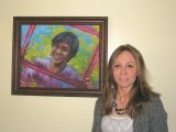 PA Artist Showcases Faces of Freedom Painting to raise awareness of  Sex Trafficking