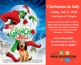 GHPRD presents Christmas in July!