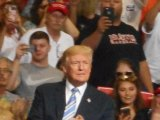 Gov. Justice Turns Republican at Trump's Huntington Make America Great Again Rally IMAGES