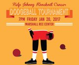 Marshall Recreation Center hosting dodgeball tournament to knock out cancer