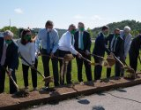 Marshall, Yeager Airport Break Ground for University's Bill Noe Flight School; Facility to Open In Fall 2021