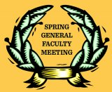 Award winners, retirees to be recognized in general faculty meeting